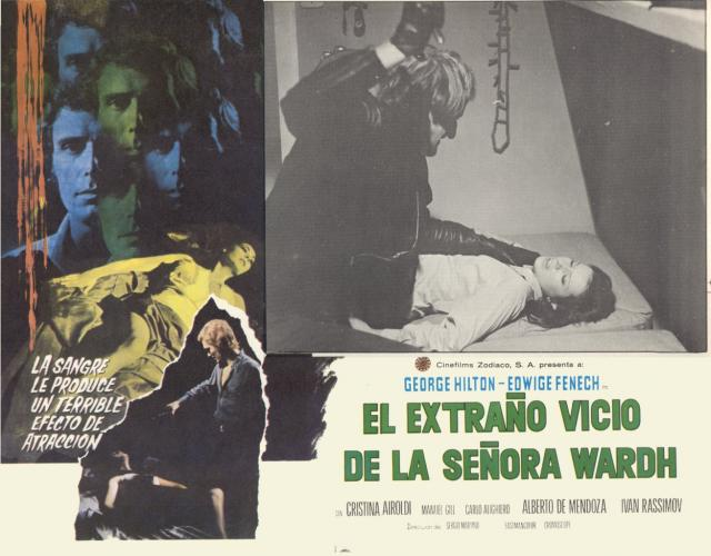 Blade of the Ripper Mexican Lobby Card 1