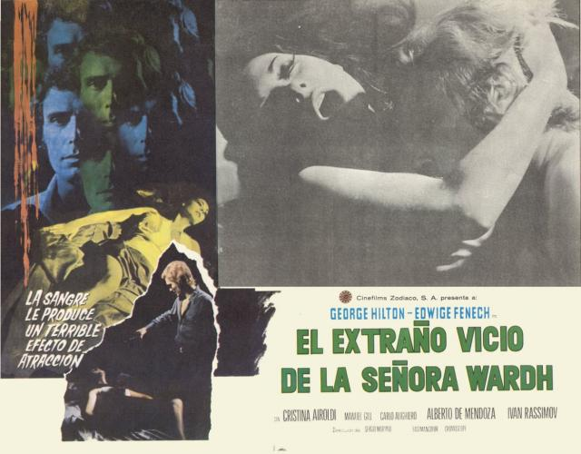Blade of the Ripper Mexican Lobby Card 2