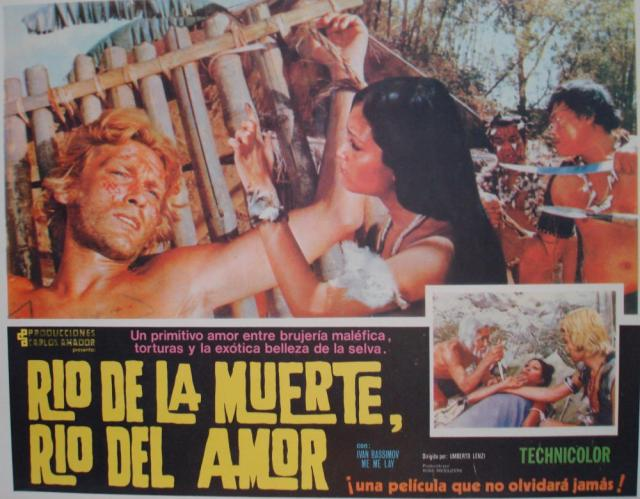 Eaten Alive Mexican Lobby Card