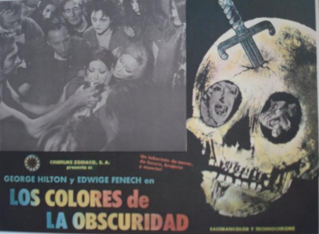All the Colors of the Dark Mexican Lobby Card 2
