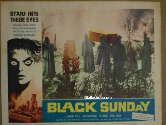 Black Sunday US Lobby Card