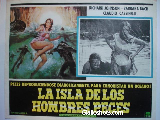 Island of the Fishmen Mexican LC #1