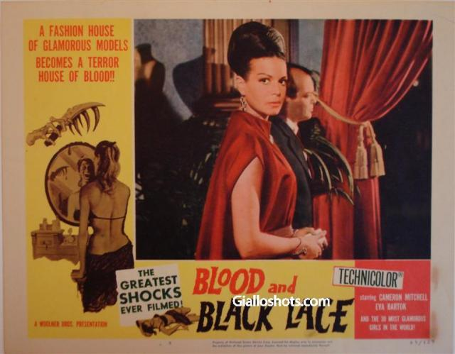 Blood and Black Lace US lobby card #4