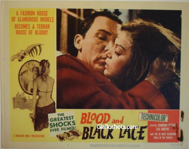Blood and Black Lace US lobby card #5