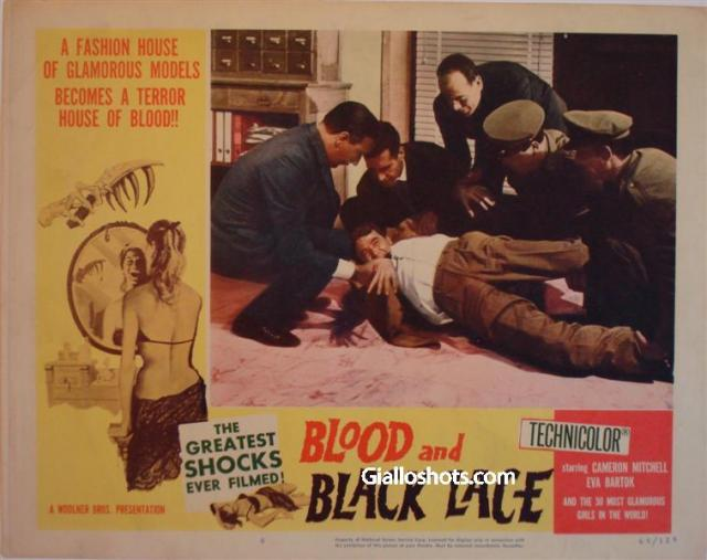Blood and Black Lace US lobby card #8