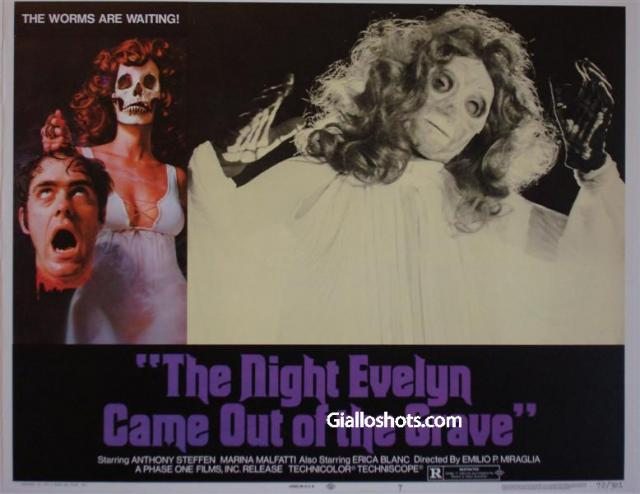 The Night That Evelyn Left the Tomb US Lobby Card 7