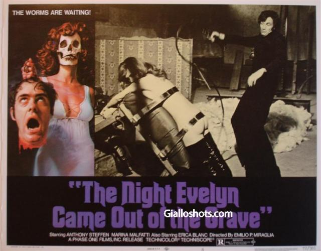 The Night That Evelyn Left the Tomb US Lobby Card 8