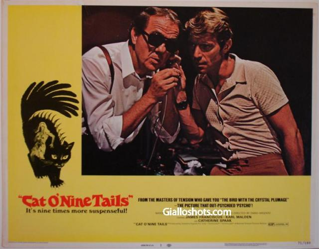 Cat O' Nine Tails US lobby card #1