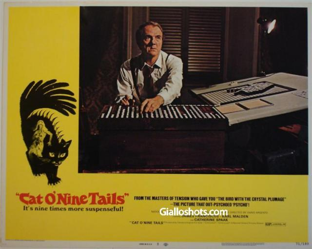 Cat O' Nine Tails US lobby card #3