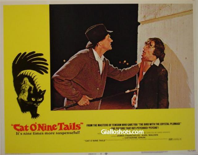 Cat O' Nine Tails US lobby card #4