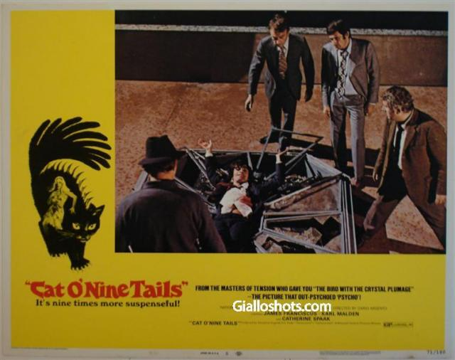 Cat O' Nine Tails US lobby card #5