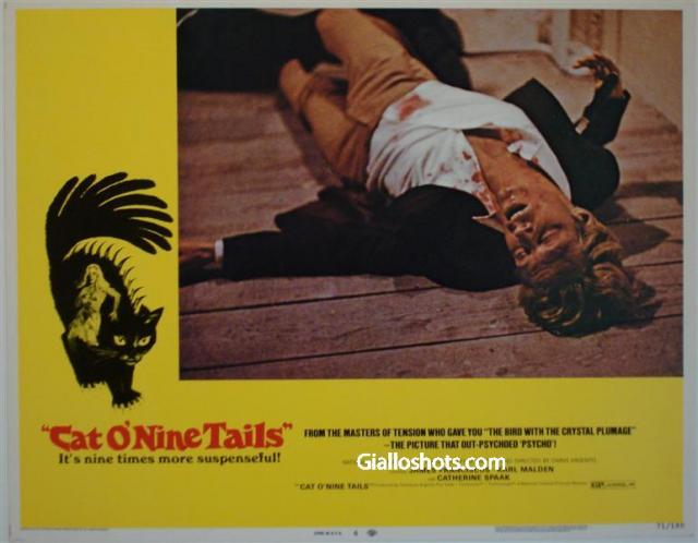 Cat O' Nine Tails US lobby card #6
