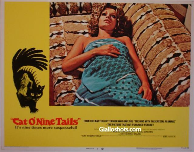 Cat O' Nine Tails US lobby card #7