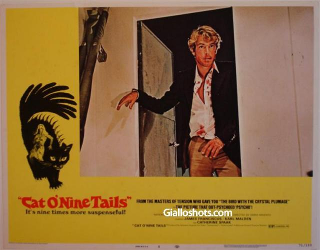 Cat O' Nine Tails US lobby card #8