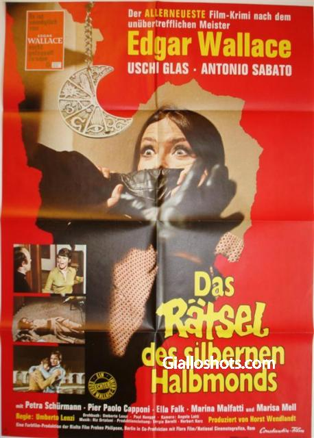 Seven Blood-Stained Orchids German poster