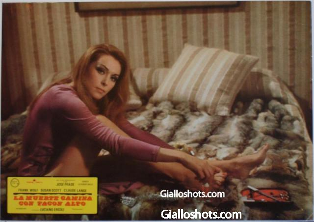 Death Walks in High Heels Spanish lobby card #2