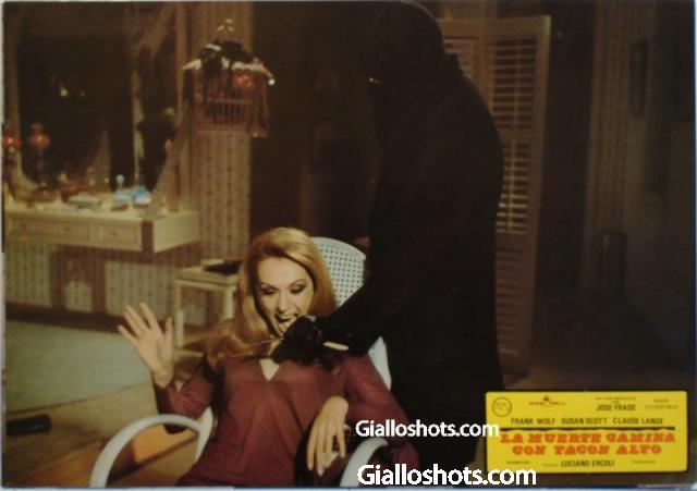 Death Walks in High Heels Spanish lobby card #6