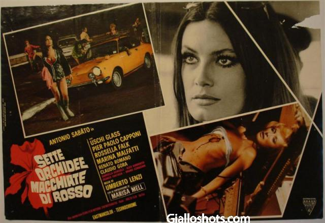 Seven Blood-Stained Orchids Umberto Lenzi Giallo Shots