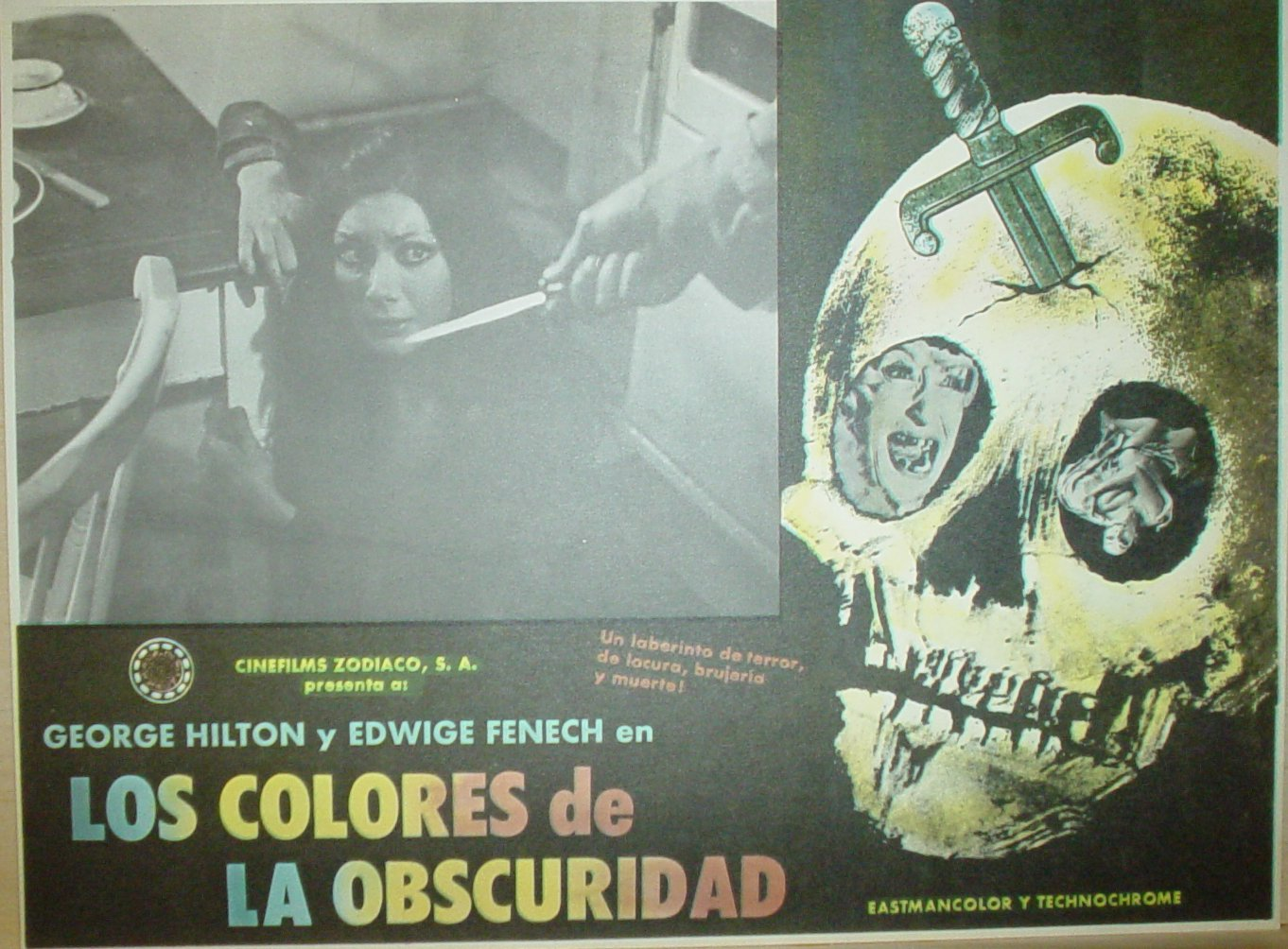 All the Colors of the Dark Mexican Lobby Card 1